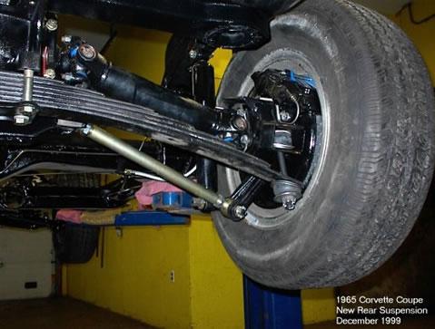 1965 Corvette Restoration Suspension Rebuild